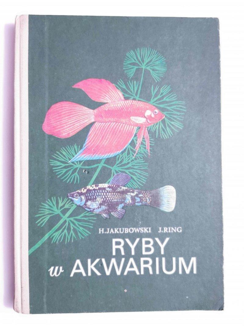 RYBY W AKWARIUM - H. Jakubowski 1988