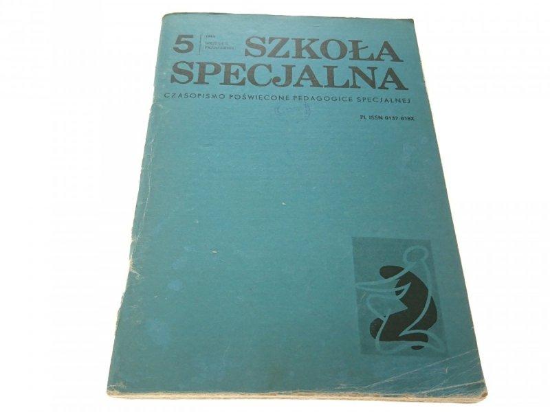 SZKOŁA SPECJALNA 5 WRZESIEŃ PAŹDZIERNIK 1984