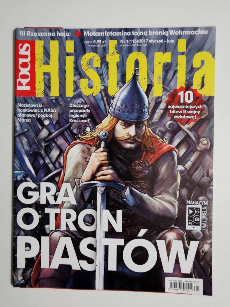 FOCUS HISTORIA NR 1 (115)/2017 STYCZEŃ-LUTY