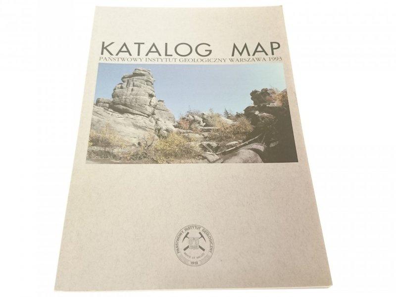 KATALOG MAP GEOLOGICZNYCH 1993
