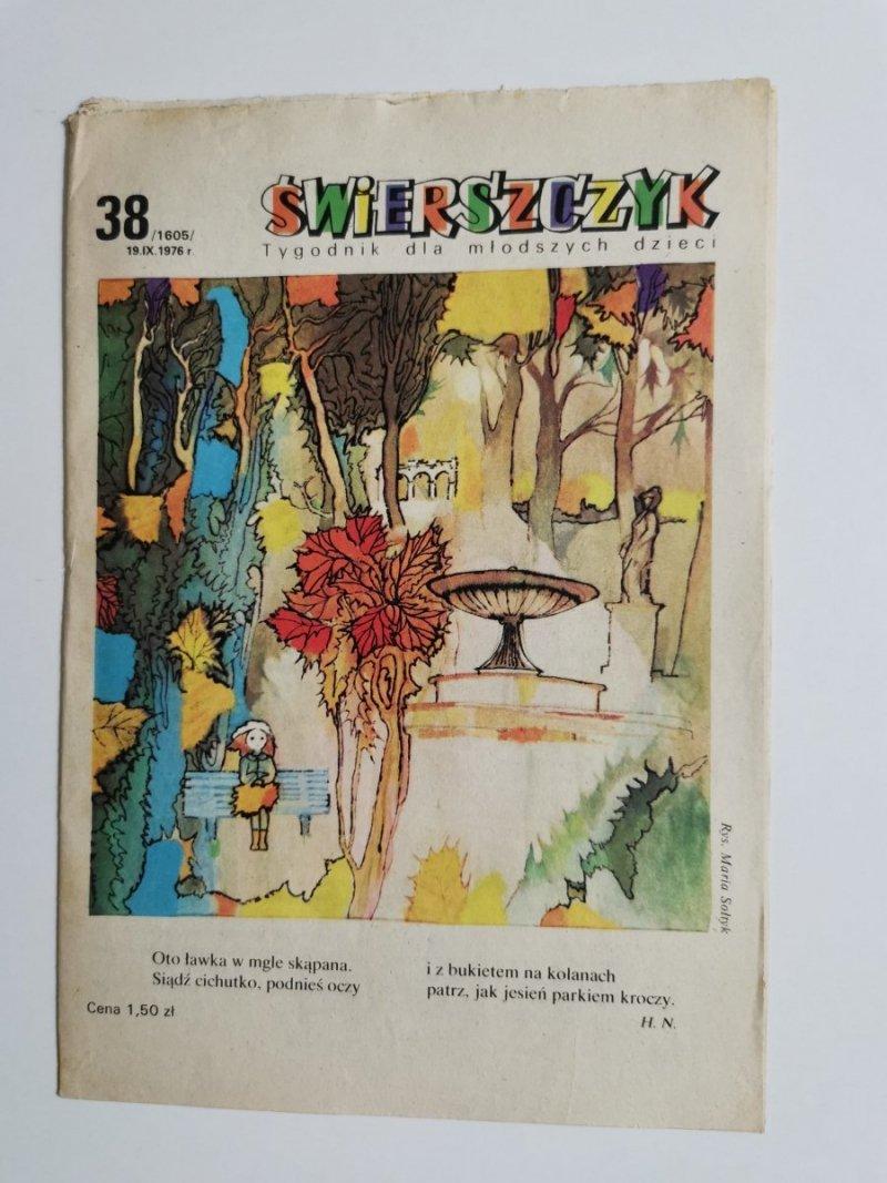 ŚWIERSZCZYK NR 38 /1605/ 19.IX.1976 r.
