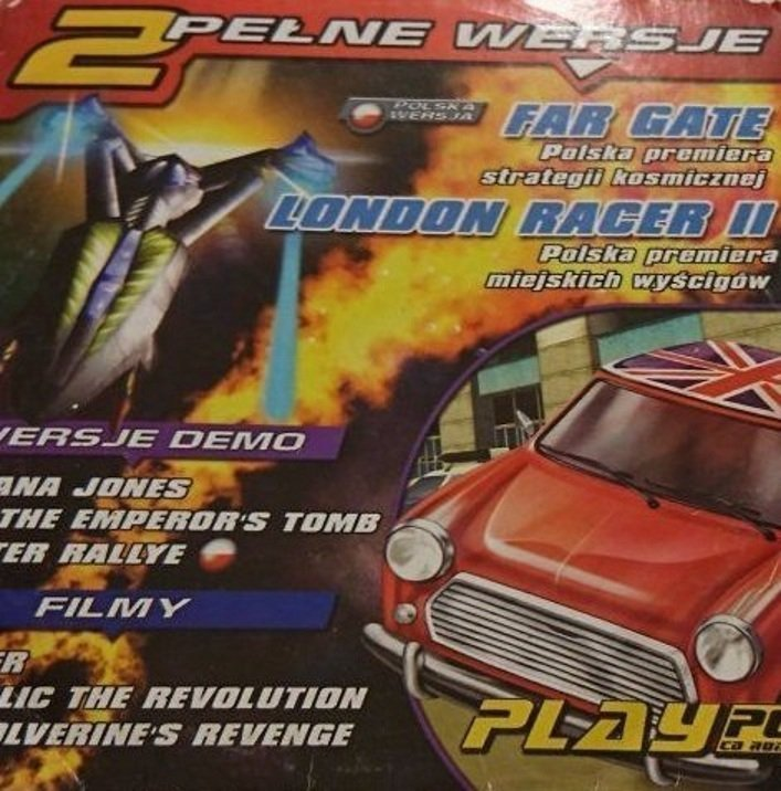 PLAY PC FAR GATE; LONDON RACER II