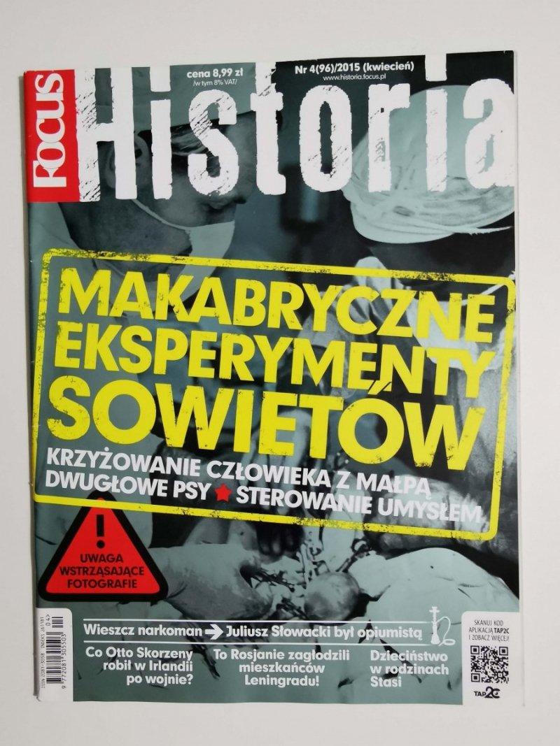 FOCUS HISTORIA NR 4 (96)/2015 KWIECIEŃ