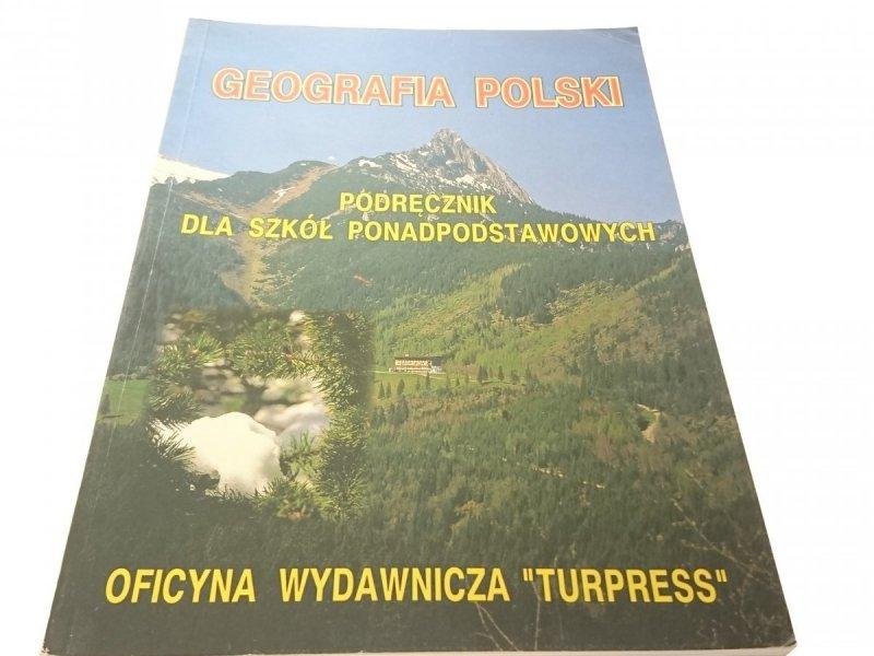 GEOGRAFIA POLSKI. PODRĘCZNIK - Świtalski (2000)