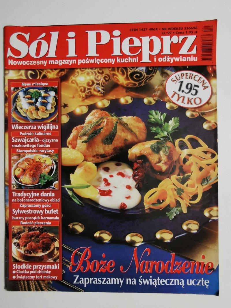 SÓL I PIEPRZ NR 12/97