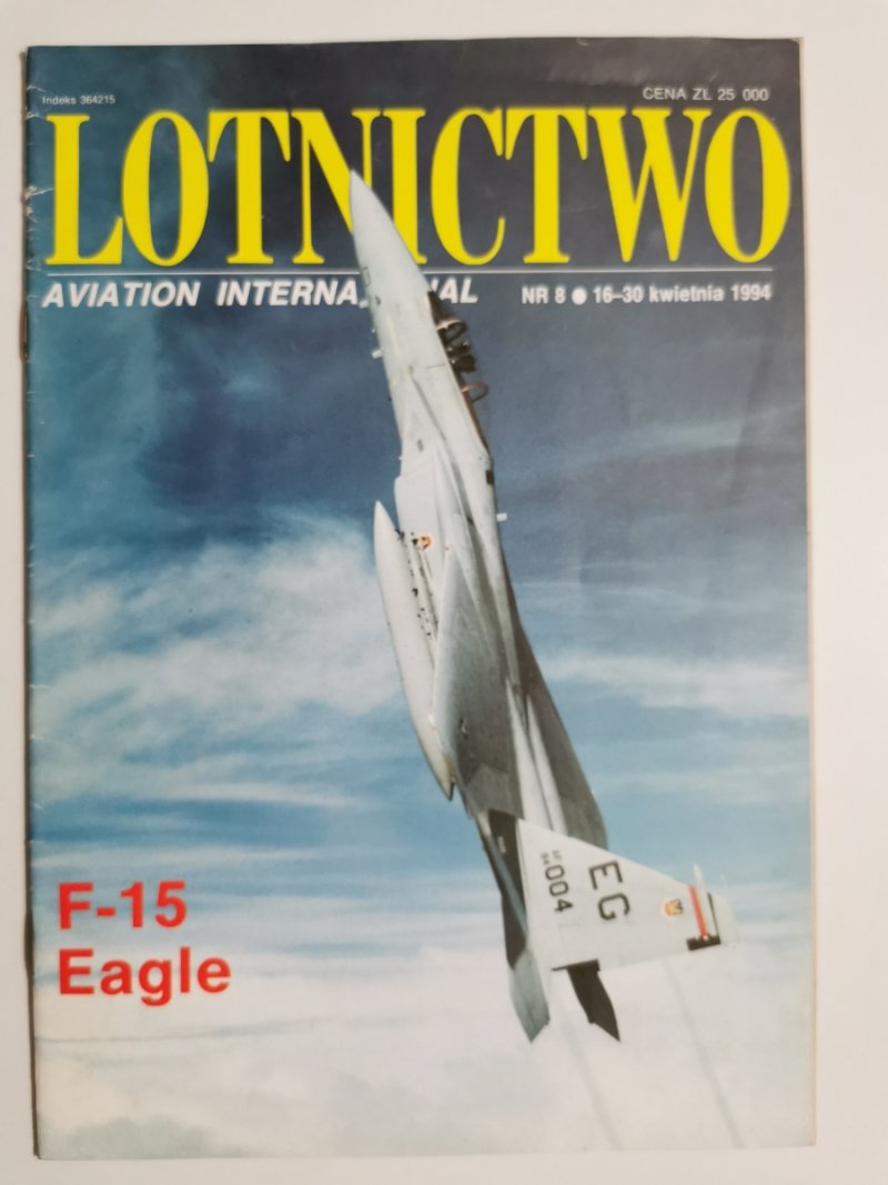 LOTNICTWO NR 8 1994