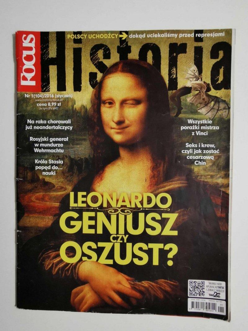 FOCUS HISTORIA NR 1 (104)/2016 STYCZEŃ