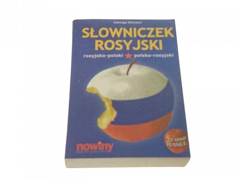 SŁOWNICZEK ROSYJSKI ROS-POL; POL-ROS - J. Oleńska