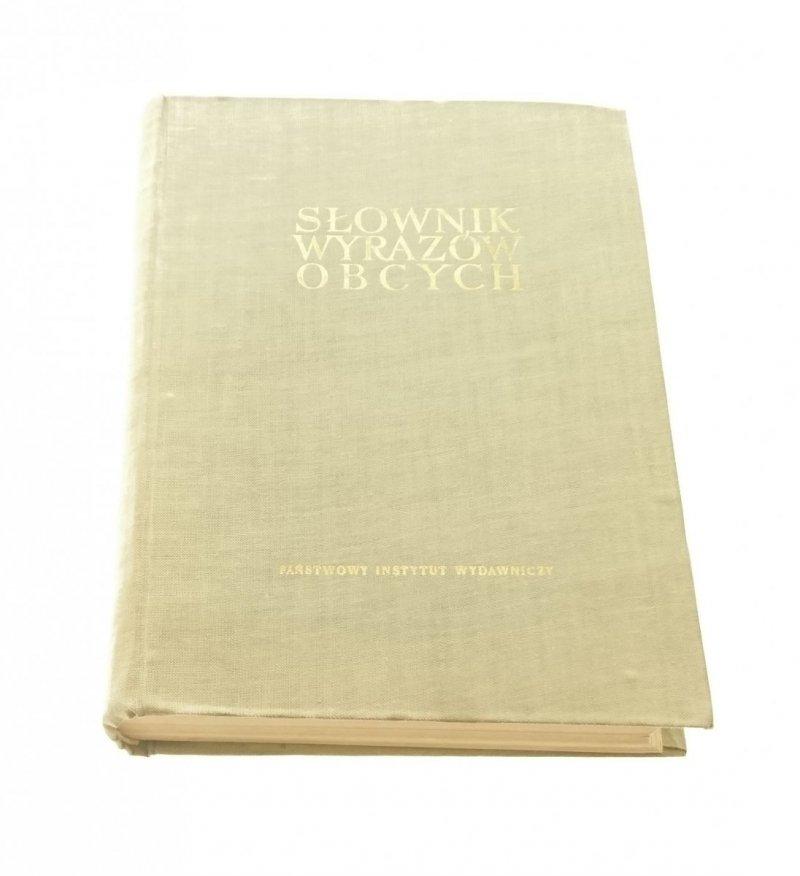 SŁOWNIK WYRAZÓW OBCYCH (1962)