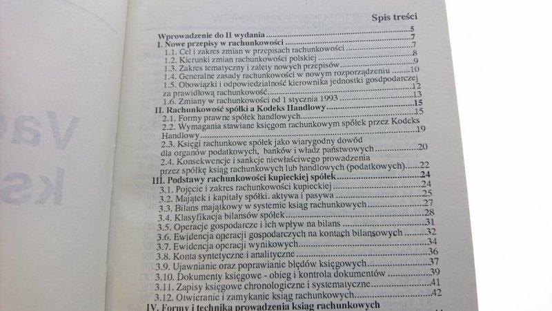 VADEMECUM KSIĘGOWEGO SPÓŁKI - Czesław Paczuła 1993