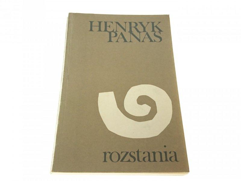 ROZSTANIA - Henryk Panas 1980