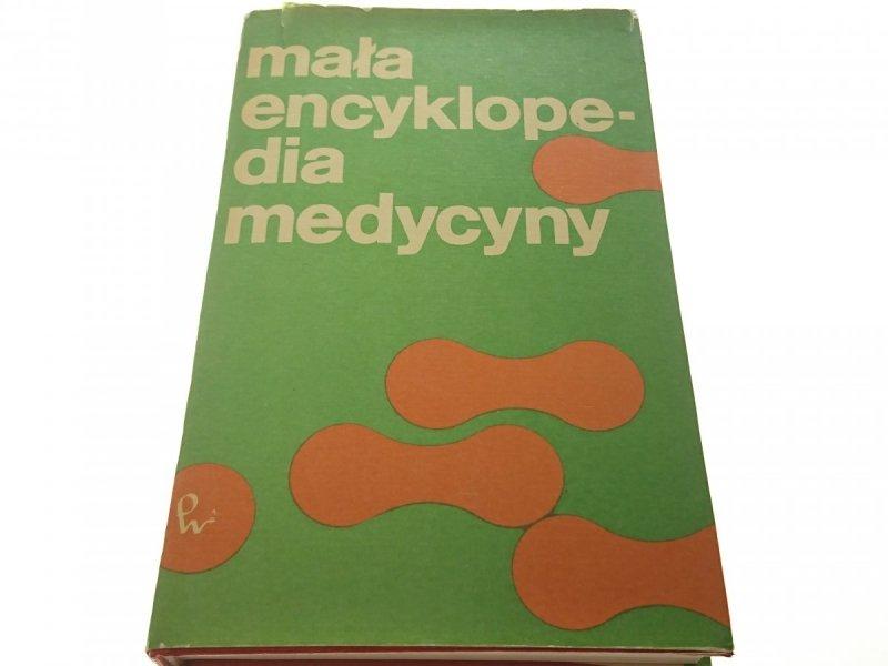 MAŁA ENCYKLOPEDIA MEDYCYNY TOM I A-G (1991)