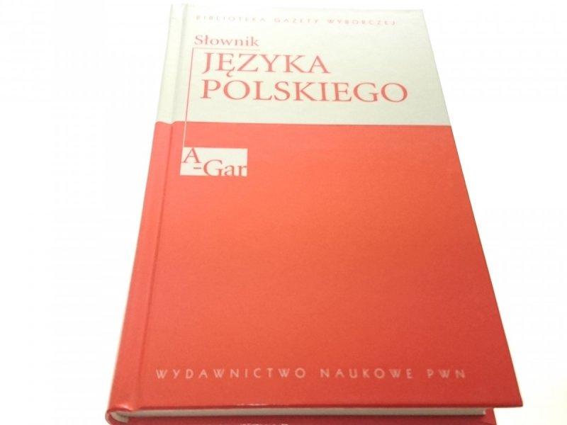 SŁOWNIK JĘZYKA POLSKIEGO TOM 1 A-GAR 2007