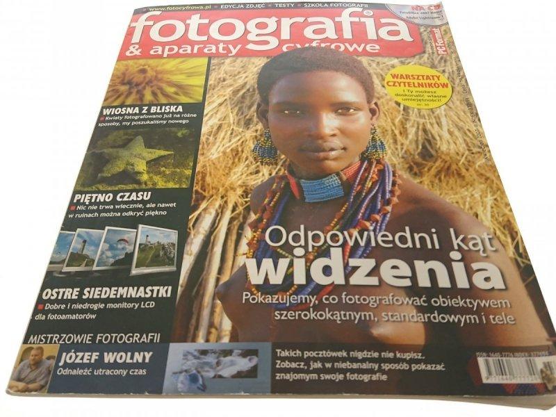 FOTOGRAFIA n APARATY CYFROWE NR 3/2007 KWIECIEŃ