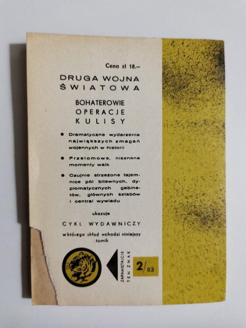 ŻÓŁTY TYGRYS: ODEJŚCIE NA ROZKAZ - Zbigniew Kozakiewicz 1983