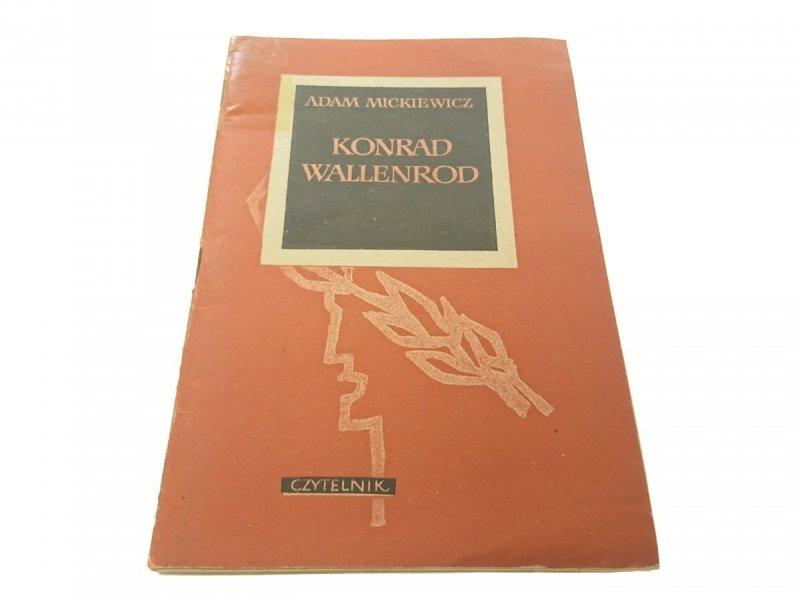 KONRAD WALLENROD - Adam Mickiewicz (1964)