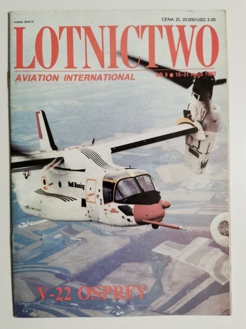 LOTNICTWO NR 9 1992