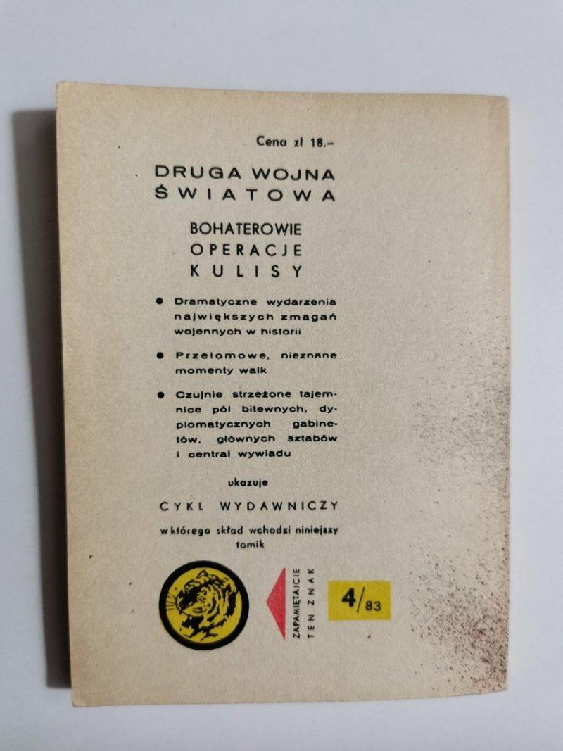 ŻÓŁTY TYGRYS: ALARM DLA BELGRADU - Karol Szeląg 1983
