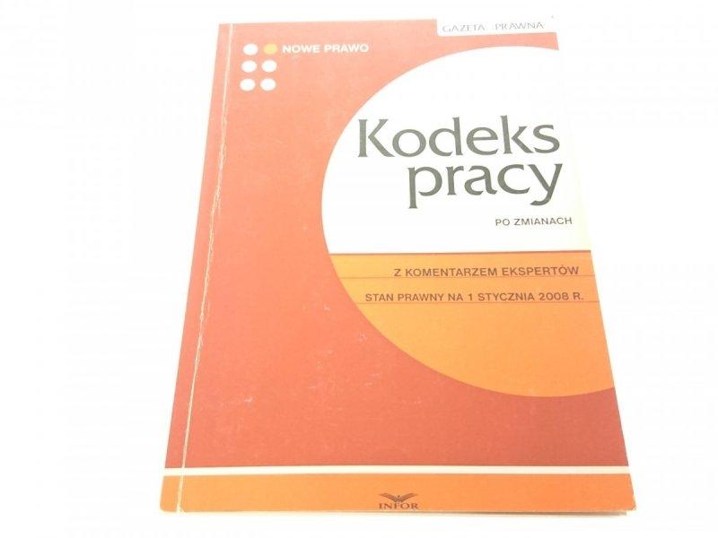 KODEKS PRACY PO ZMIANACH 2008