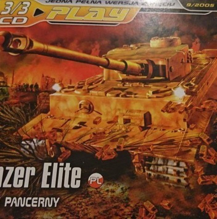 PLAY 9/2005 CD 3/3 PANZER ELITE. JEDEN PANCERNY
