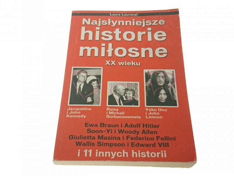 NAJSŁYNNIEJSZE HISTORIE MIŁOSNE XX WIEKU