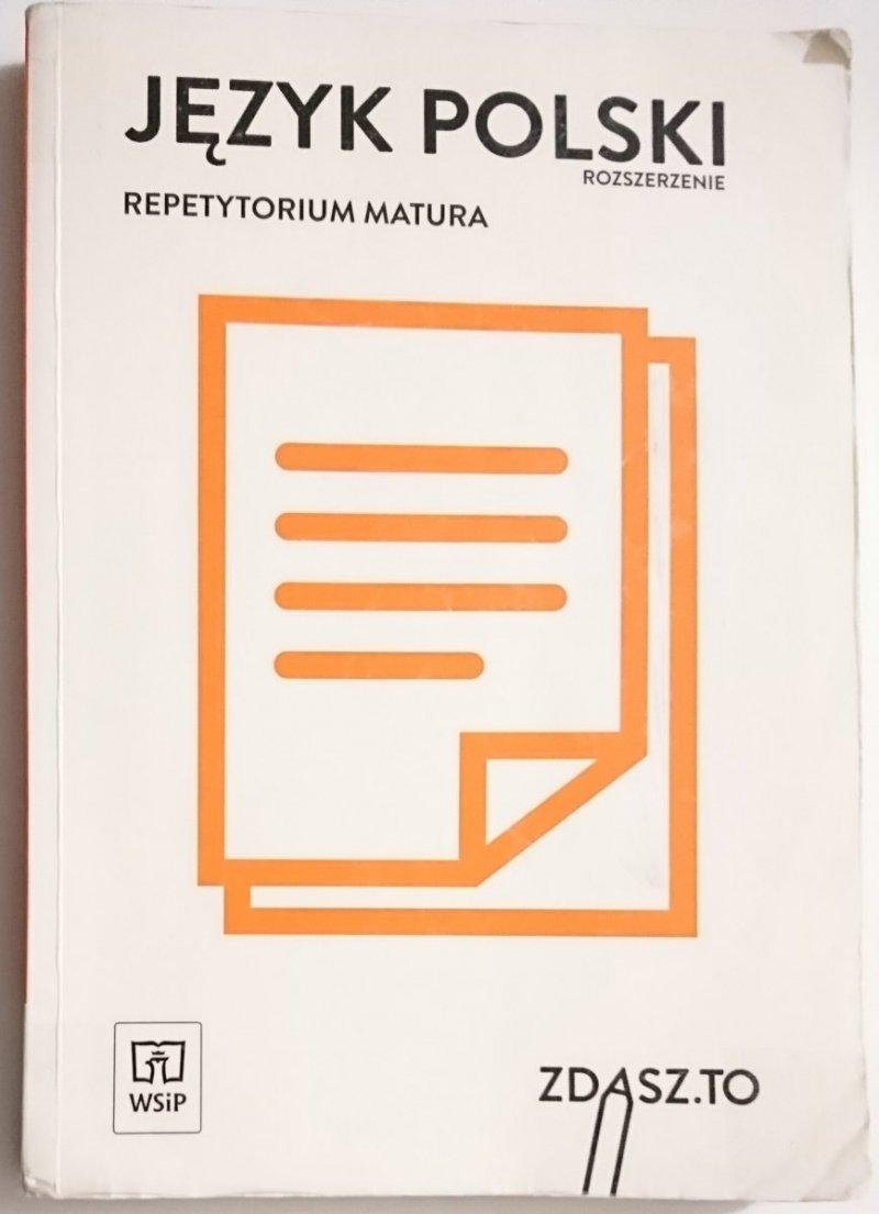 JĘZYK POLSKI. ROZSZERZENIE. REPETYTORIUM MATURA - Bożena Barańska i inni 2004