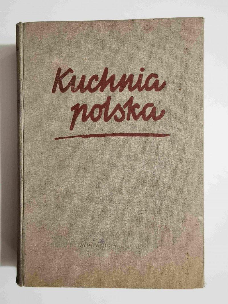 KUCHNIA POLSKA - red. Dr Stanisław Berger 1955