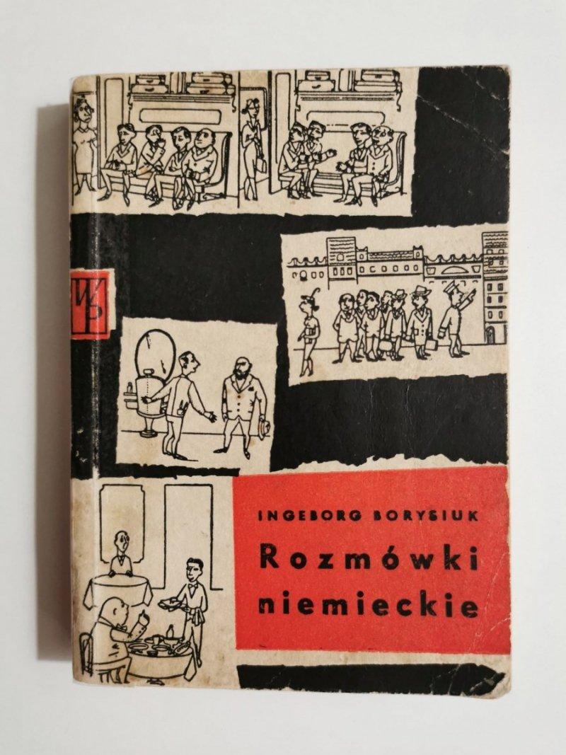 ROZMÓWKI NIEMIECKIE - Ingeborg Borysiuk 1961
