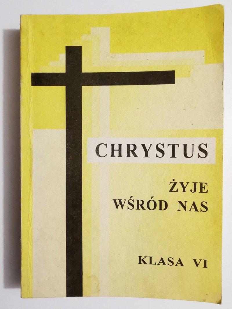 CHRYSTUS ŻYJE WŚRÓD NAS. KLASA VI. PODRĘCZNIK METODYCZNY