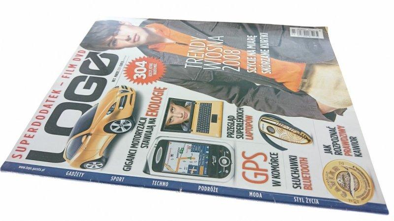 LOGO NR 3 MARZEC 2008 BEZ PŁYTY DVD