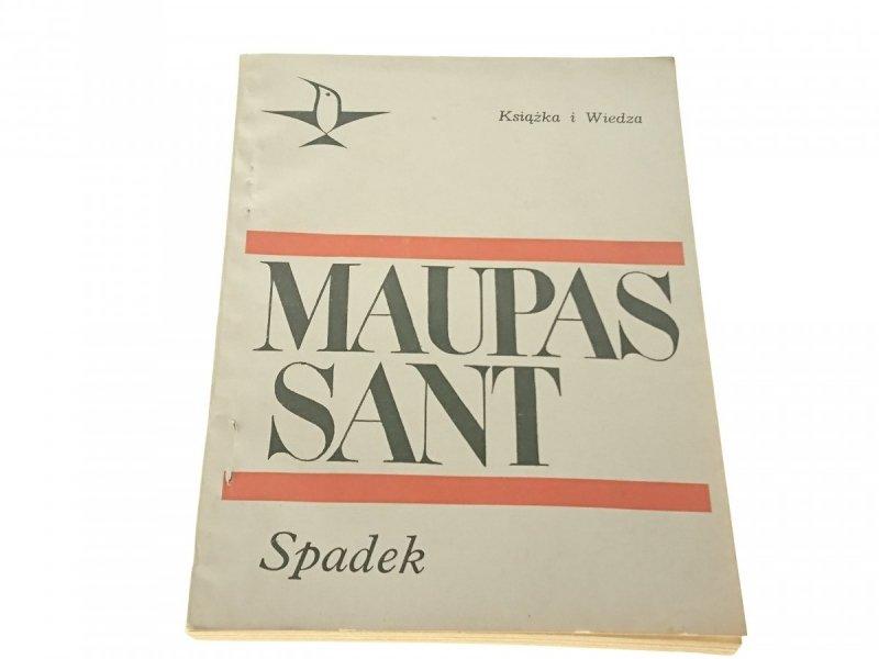 SPADEK - Guy De Maupassant 1968
