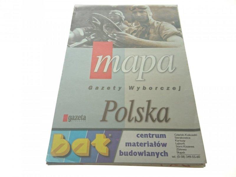 MAPA GAZETY WYBORCZEJ. POLSKA