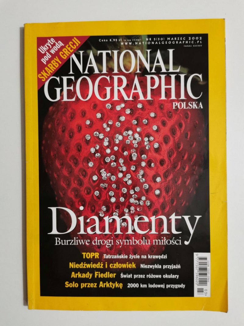 NATIONAL GEOGRAPHIC NR 3 (30) MARZEC 2002