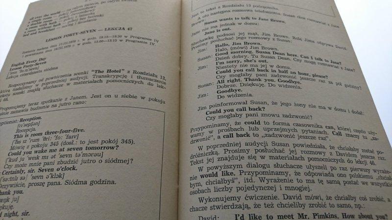 DO YOU SPEAK ENGLISH? LEKCJE 43-50 ZESZYT 6