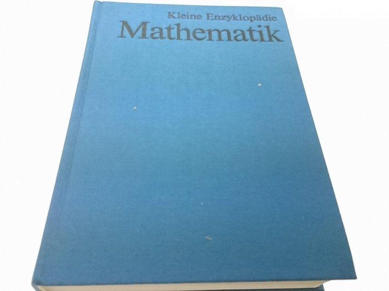 KEINE ENZYKLOPADIE. MATHEMATIK (1977)