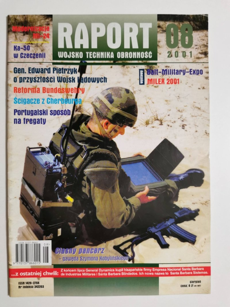 RAPORT 08 2001