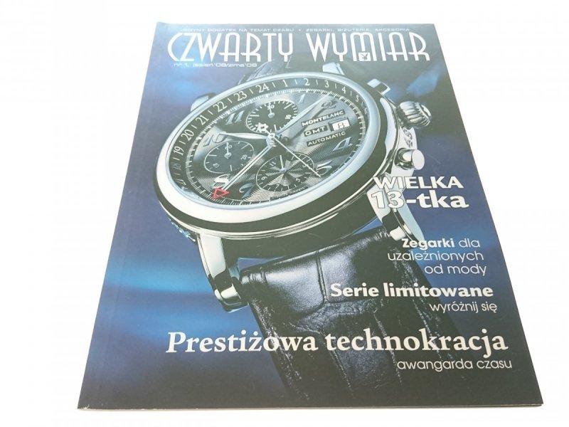 CZWARTY WYMIAR NR 1 JESIEŃ '08/ZIMA '09