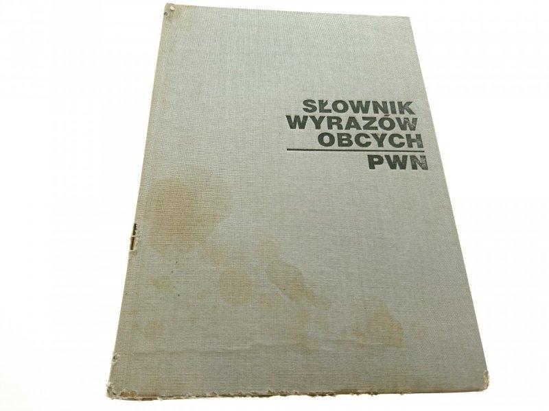 SŁOWNIK WYRAZÓW OBCYCH PWN 1977