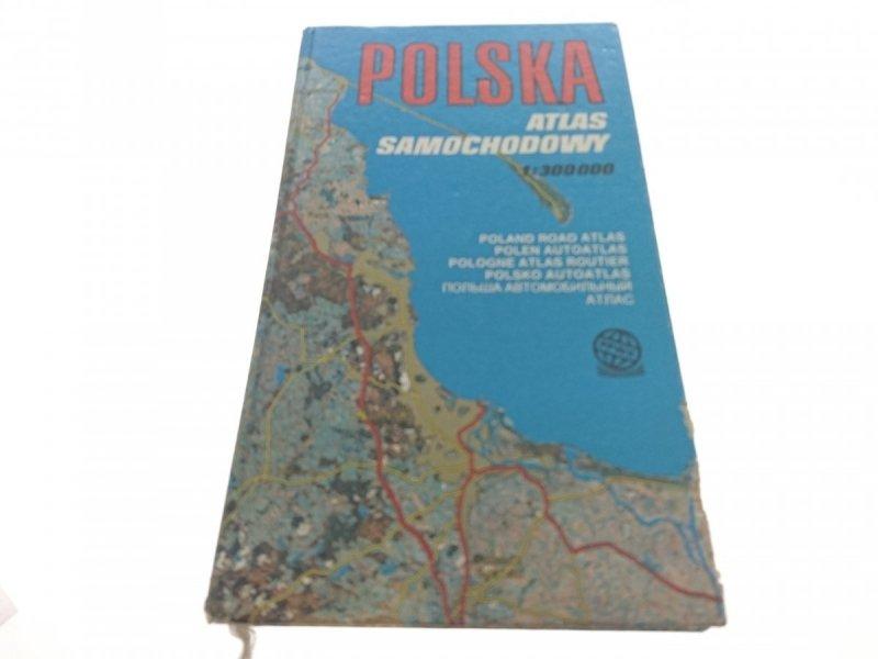 POLSKA. ATLAS SAMOCHODOWY 1:300000