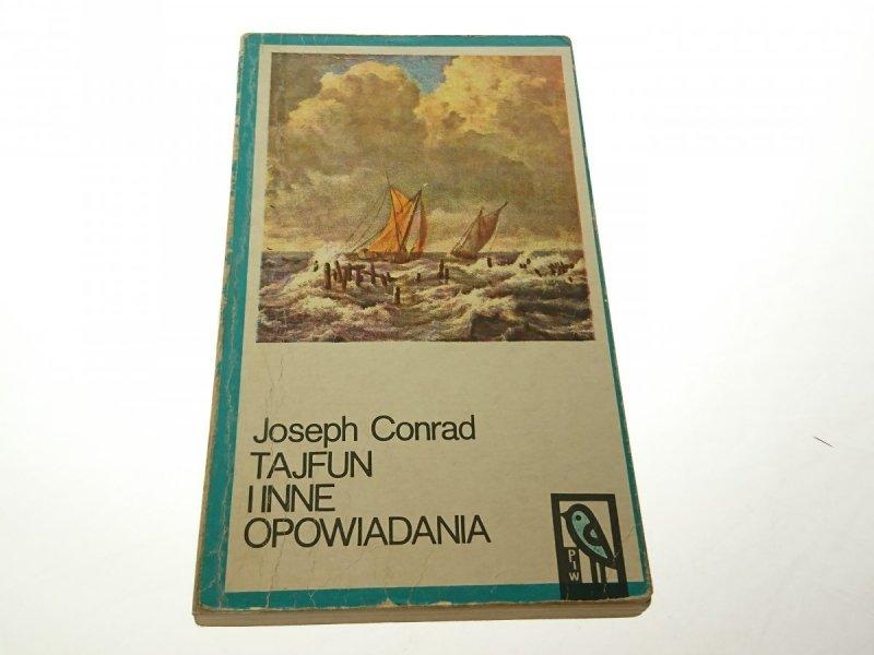 TAJFUN I INNE OPOWIADANIA - Joseph Conrad 1971