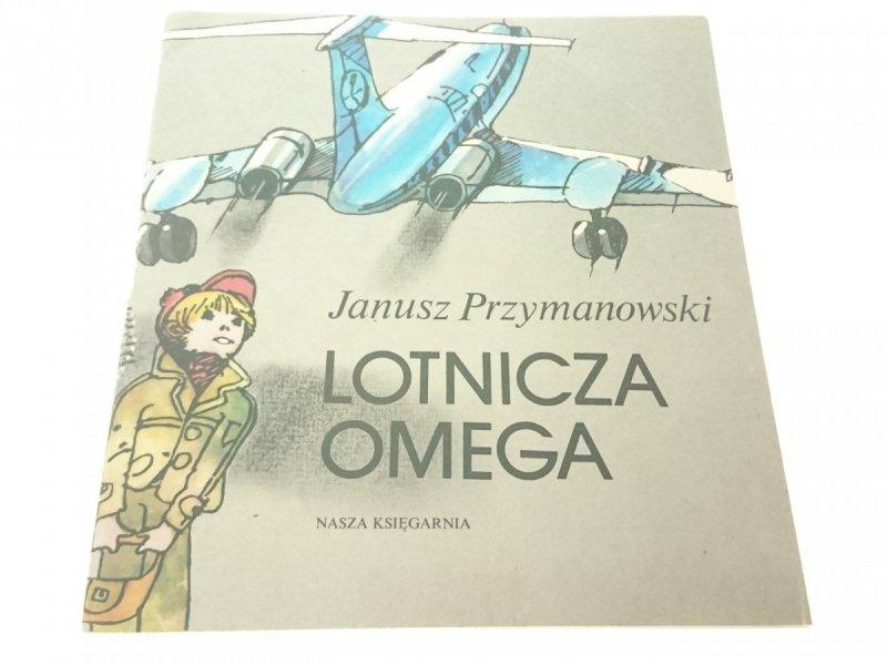 LOTNICZA OMEGA - Janusz Przymanowski 1982