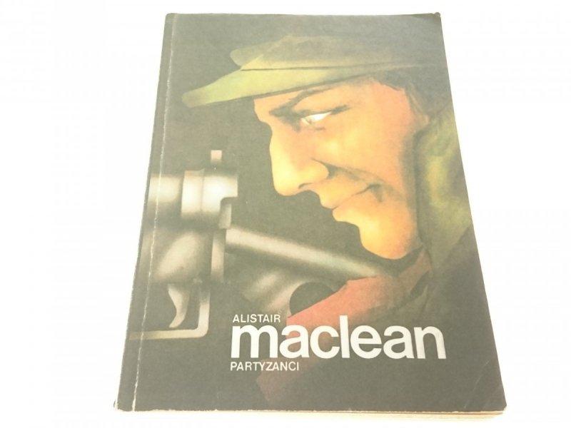 PARTYZANCI - Alistair MacLean 1989