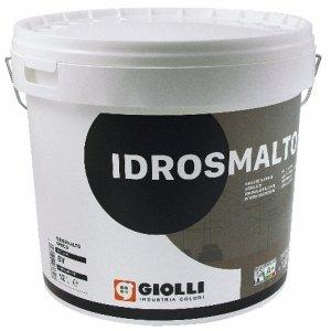 IDROSMALTO OPACO - 4L (biała, matowa, akrylowa, super-zmywalna farba do wnętrz i na fasady z możliwością barwienia)