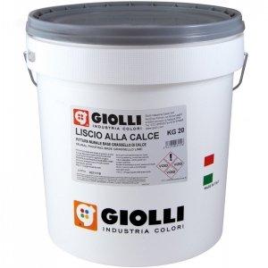 LISCIO ALLA CALCE - 20KG (biała farba wapienna - wewnętrzo/zewnętrzna z możliwością barwienia)