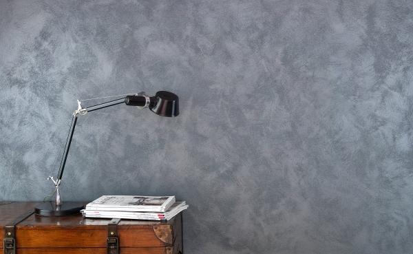 ANTICO RIFLESSO SABBIATO ARGENTO - 1L  (dekoracyjna, srebrna farba metalizowana - z piaskiem kwarcowym - 121 kolorów)