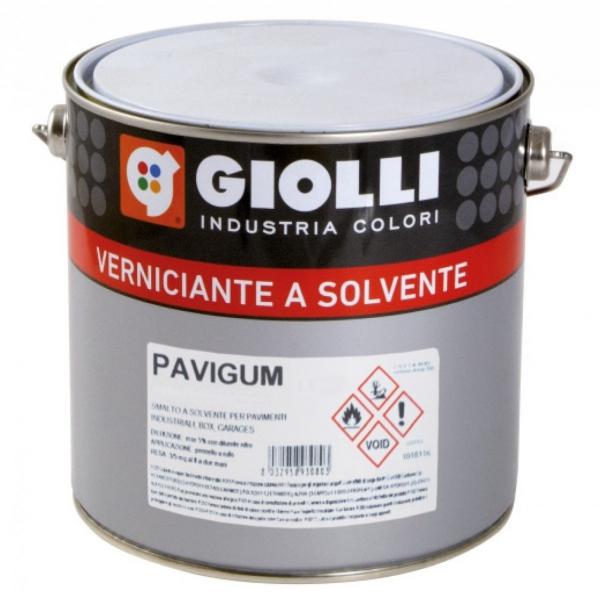 PAVIGUM - 0,75L (hydroizolacyjna, wodoodporna farba na bazie żywic alkidowo-chlorokauczukowych do malowania tarasów, balkonów, podłóg garaży itp.)