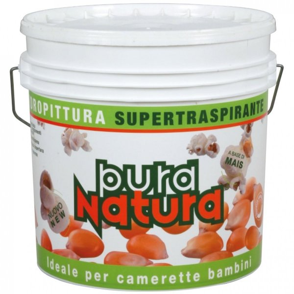 FISSATIVO PURA NATURA - 5L (100% ekologiczny i naturalny podkład pod farbę ekologiczną PURA NATURA)
