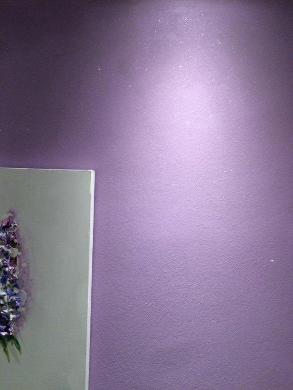 ANTICO RIFLESSO CRISTALLO - 0,75L  (dekoracyjna, farba metalizowana - z mieniącymi się kryształkami i dużą ilością piasku kwarcowego)