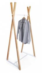 Wieszak  drewniany  '' B - 1'' , 83 cm