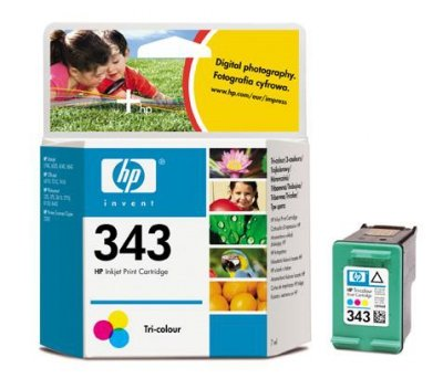 TUSZ ZAMIENNIK HP 343 COLOR [15ml] [XL]